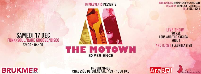 motown experience à Bruxelles