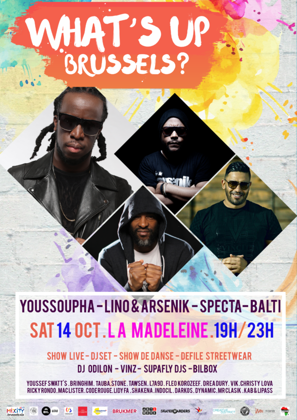 Afestival what's up brussels