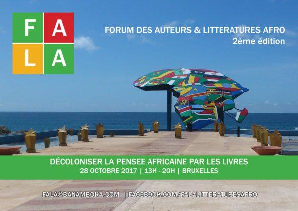 """Le FALA 2017, """"Forum des Auteurs et des Littératures Afro"""""""