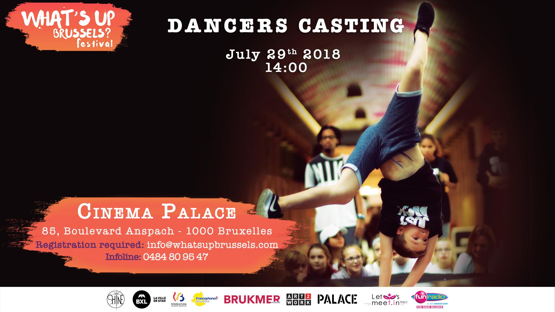 casting danse du festival what's up brussels @ Cinema palace | Bruxelles | Bruxelles | Belgique