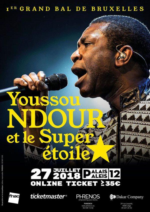 Youssou Ndour en concert @ palais 12 | Bruxelles | Bruxelles | Belgique